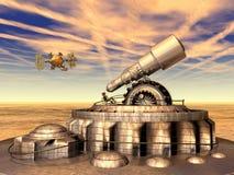 De Exploratie van Ruimte stock illustratie