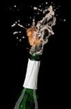 De explosie van Champagne Stock Afbeelding