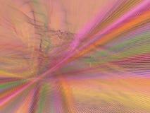 De explosie van de regenboog royalty-vrije illustratie