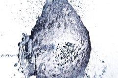 De explosie van het water Stock Foto