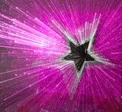 De explosieachtergrond van de ster Royalty-vrije Stock Foto's