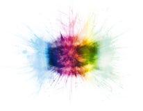 De explosies van de regenboog vector illustratie