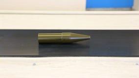 De explosieven van de het arsenaalproductie RPG van wapenwapens - lopende band stock videobeelden