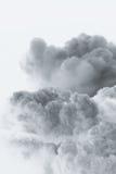 De explosievorm van de rookwolk Stock Afbeelding