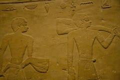 De expositie van KHM Egypte - tabletten stock foto