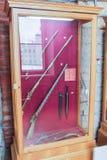 De expositie van uitstekende geweren Stock Fotografie