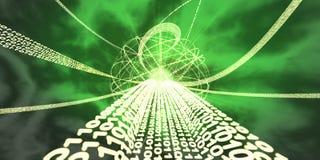 De Expressweg van de informatie stock illustratie
