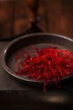 De extra hete rode Spaanse peperspeper past koorden in Royalty-vrije Stock Fotografie