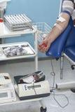 De extractieclose-up 7 van het bloed Stock Afbeeldingen