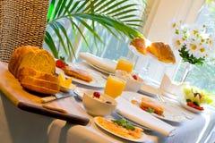De extravagantie van het ontbijt Royalty-vrije Stock Fotografie