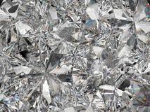 De de extreme close-up en caleidoscoop van de diamantstructuur Royalty-vrije Stock Foto's