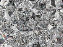 De de extreme close-up en caleidoscoop van de diamantstructuur Royalty-vrije Stock Afbeelding
