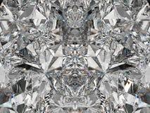 De de extreme close-up en caleidoscoop van de halfedelsteenstructuur Stock Fotografie