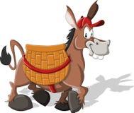 De ezel van het beeldverhaal Stock Foto