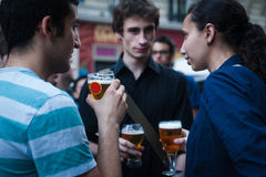 de 6月2012年-巴黎- Fête la musique 免版税库存照片