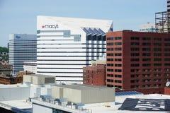 De företags högkvarteren av Macy i Cincinnati arkivbild