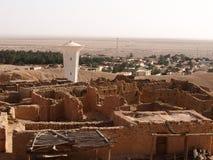 De förstörda boningarna av berbers royaltyfria foton