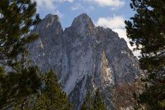 De förtrollade bergen Royaltyfri Foto