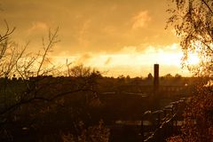 De fabelachtige herfst en groot het weer stock foto's