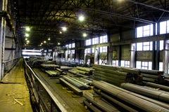 De fabriek van buizen Stock Fotografie