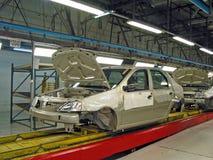 De fabriek van de auto Stock Afbeeldingen