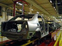 De fabriek van de auto royalty-vrije stock fotografie