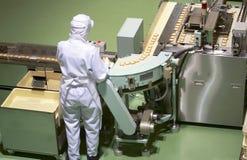 De fabriek van de banketbakkerij Royalty-vrije Stock Foto's