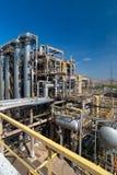 De fabriek van de het gasverwerking van de mening. Royalty-vrije Stock Afbeeldingen