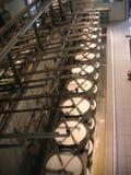De fabriek van de kaas Royalty-vrije Stock Afbeeldingen