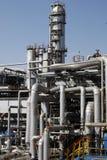 De fabriek van de raffinaderij stock foto