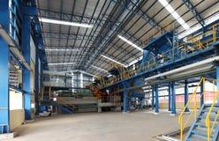 De fabriek van de suikermolen royalty-vrije stock afbeeldingen
