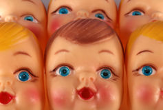 De Fabriek van Doll Royalty-vrije Stock Foto's