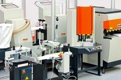 De fabriek van het aluminium royalty-vrije stock afbeeldingen