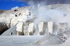 De fabriek van het cement Royalty-vrije Stock Afbeelding