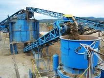 De fabriek van het cement Royalty-vrije Stock Fotografie