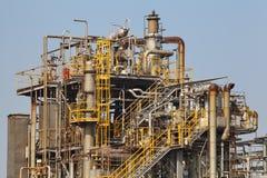 De fabriek van het chemische product en van de olie Stock Fotografie