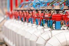 De fabriek van het chemische product en van de olie Royalty-vrije Stock Afbeelding