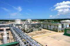 De fabriek van het gas Royalty-vrije Stock Afbeelding