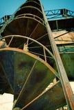 De fabriek van het gas Royalty-vrije Stock Foto's