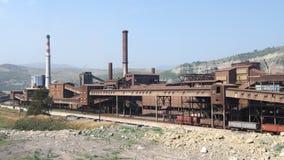 De Fabriek van het staal royalty-vrije stock foto's
