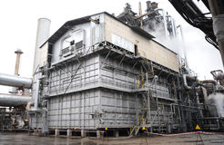 De fabriek van het staal Royalty-vrije Stock Foto