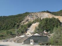 De fabriek van het zand Royalty-vrije Stock Fotografie