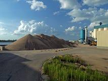 De fabriek van het zand Stock Foto