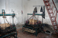 De fabriek van kleren in Marrakech Royalty-vrije Stock Foto
