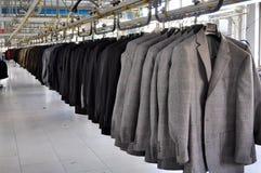 De fabriek van Textil Royalty-vrije Stock Fotografie