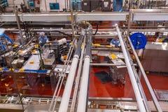 De fabriek van de Tillamookzuivelindustrie in Oregon stock foto