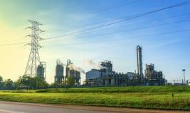 De fabrieksbouw Royalty-vrije Stock Foto's