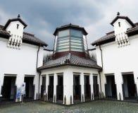 De Fabrieksmuseum van de Kawarategel, OMI-Hachiman, Japan stock foto's