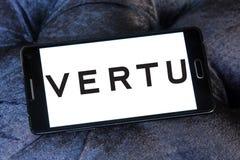 De fabrikantenembleem van Vertu mobiel telefoons Stock Fotografie