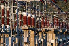 De faciliteit van de elektrische centrale Royalty-vrije Stock Foto's